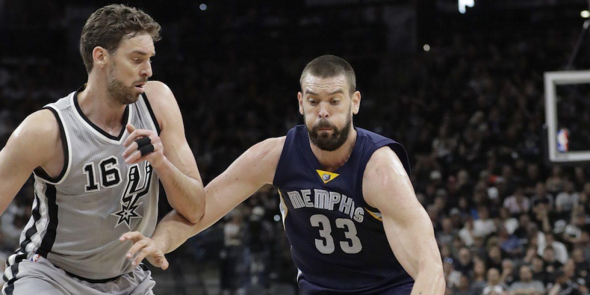 Spurs aplastan a Grizzlies en su primero de la serie