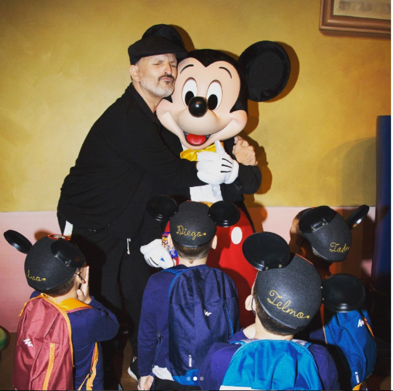 Miguel Bosé: la primera foto que publica de sus hijos
