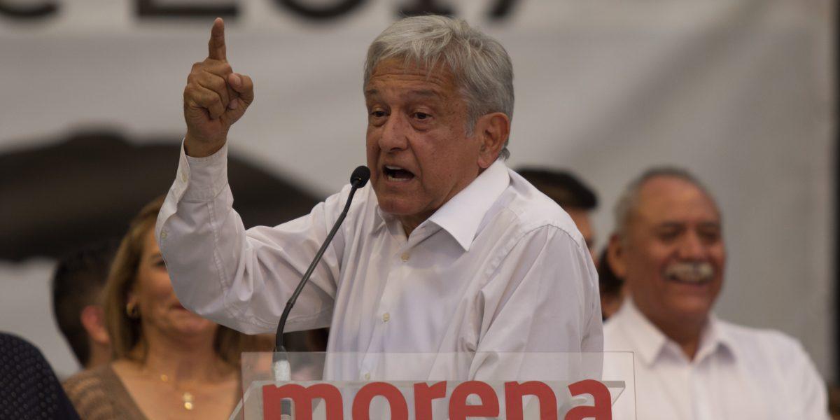 """AMLO asegura que Javier Duarte es un """"chivo expiatorio"""" de  partidos políticos"""