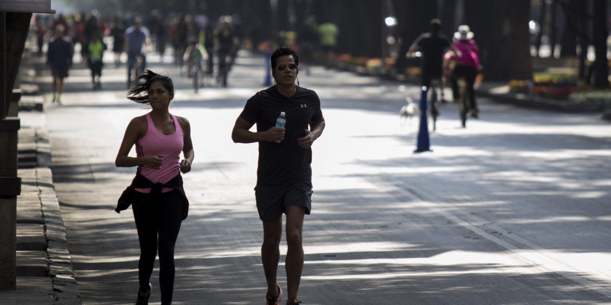 Cierran vialidades por actividades deportivas en la CDMX