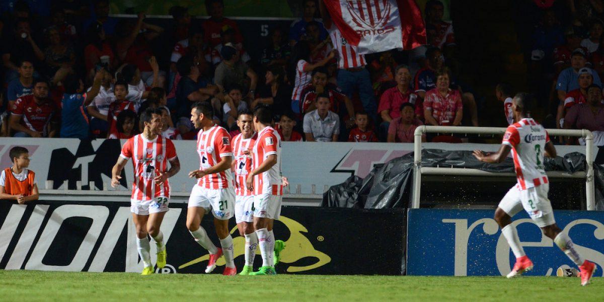 Necaxa vence a Veracruz y asegura su permanencia en Primera División
