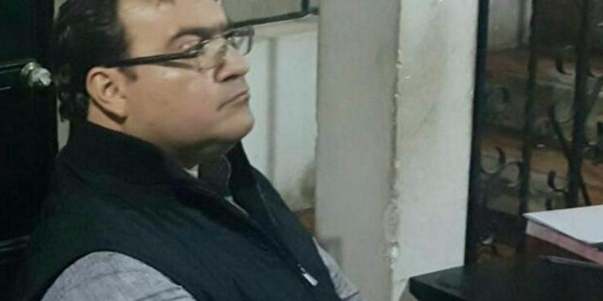 """Javier Duarte """"disfrutaba de vacaciones"""" en balneario guatemalteco"""
