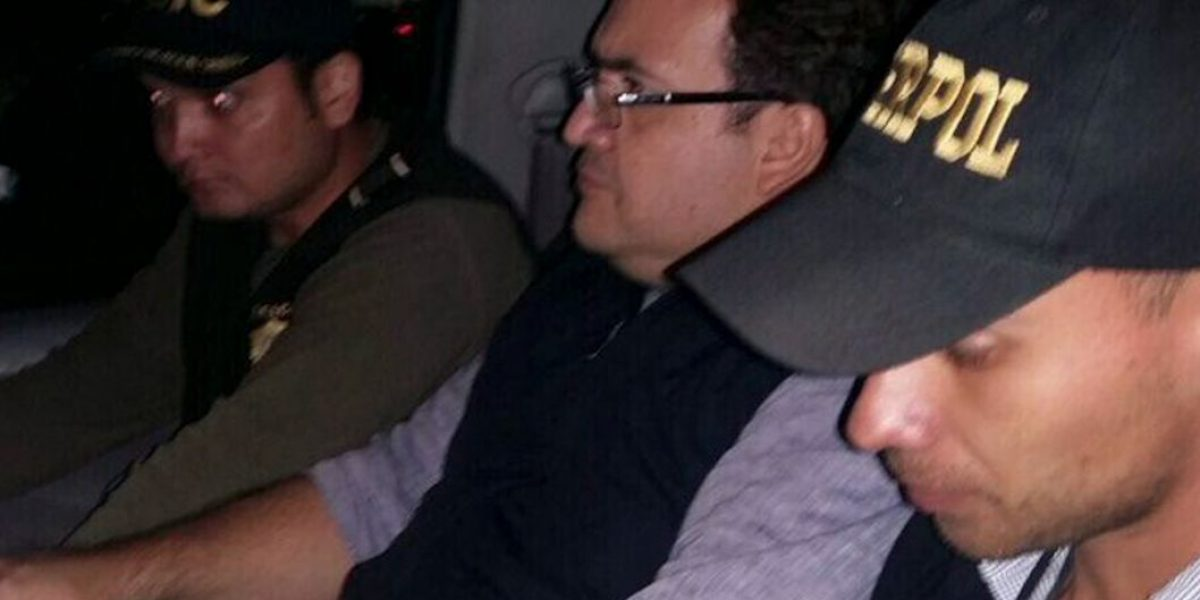 PAN exige aplicar todo el peso de la ley a Javier Duarte