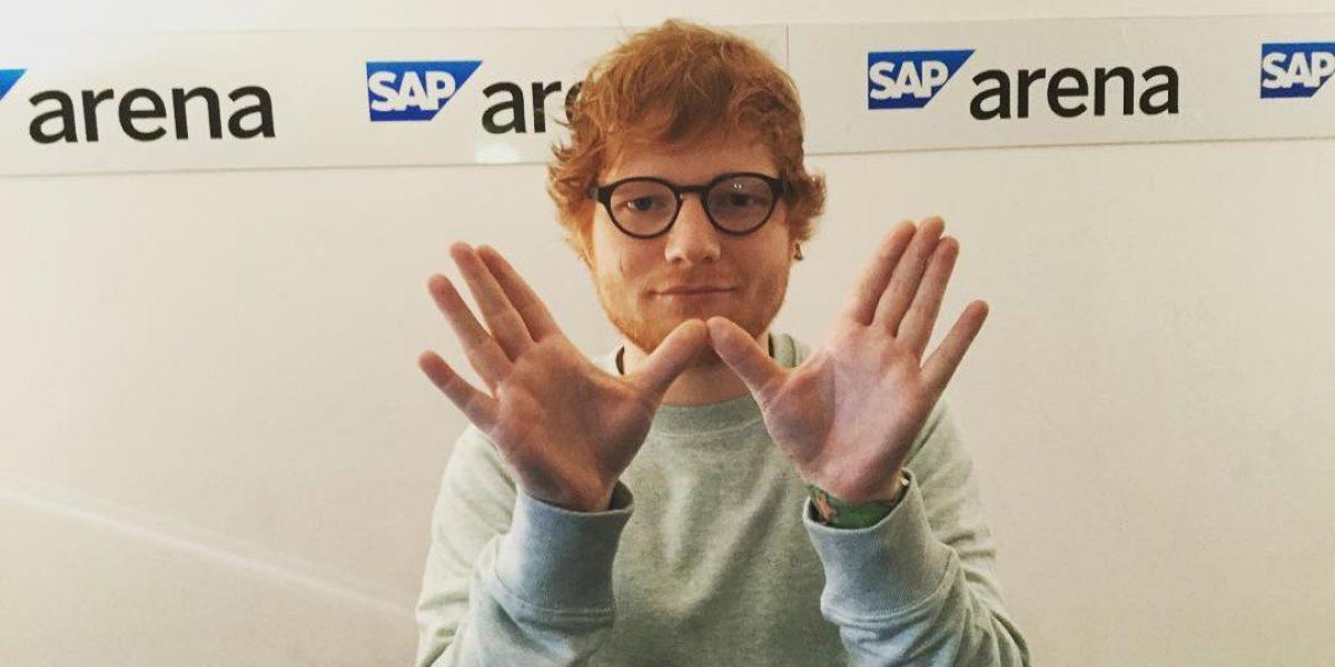 Ed Sheeran consuela a fan antes de morir