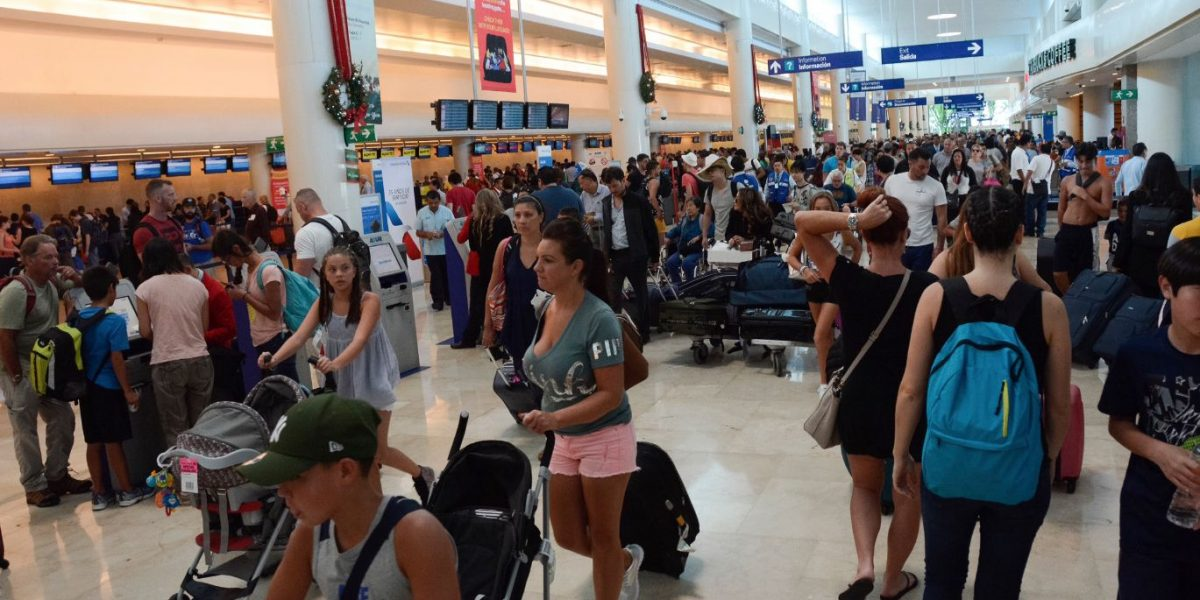 Turistas internacionales suben 4%: Sectur
