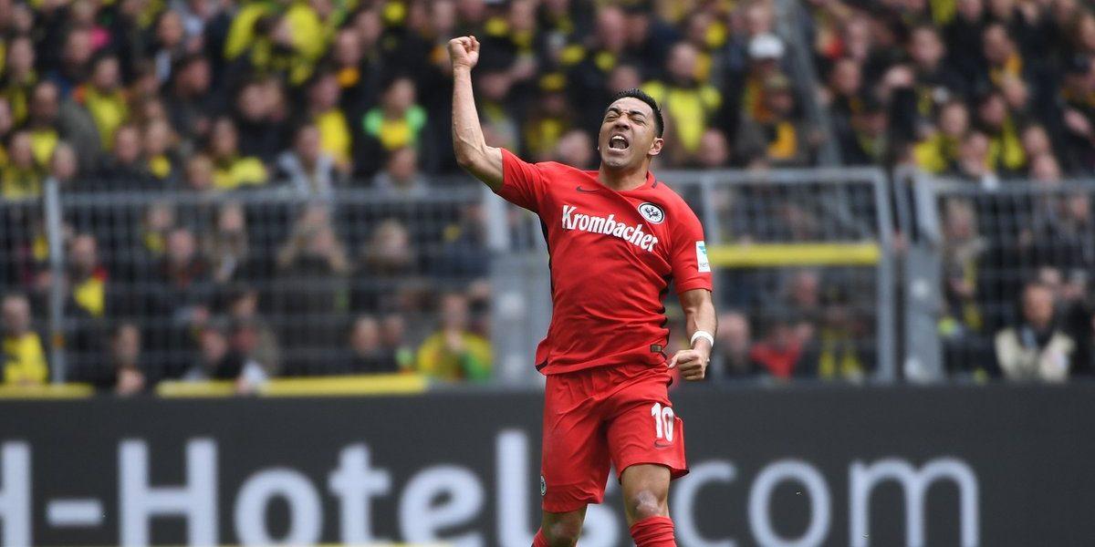Marco Fabián es elegido MVP de la jornada en la Bundesliga