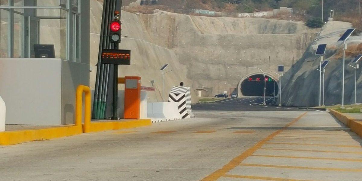 SCT pone en marcha Macrotúnel Acapulco; el más grande del país