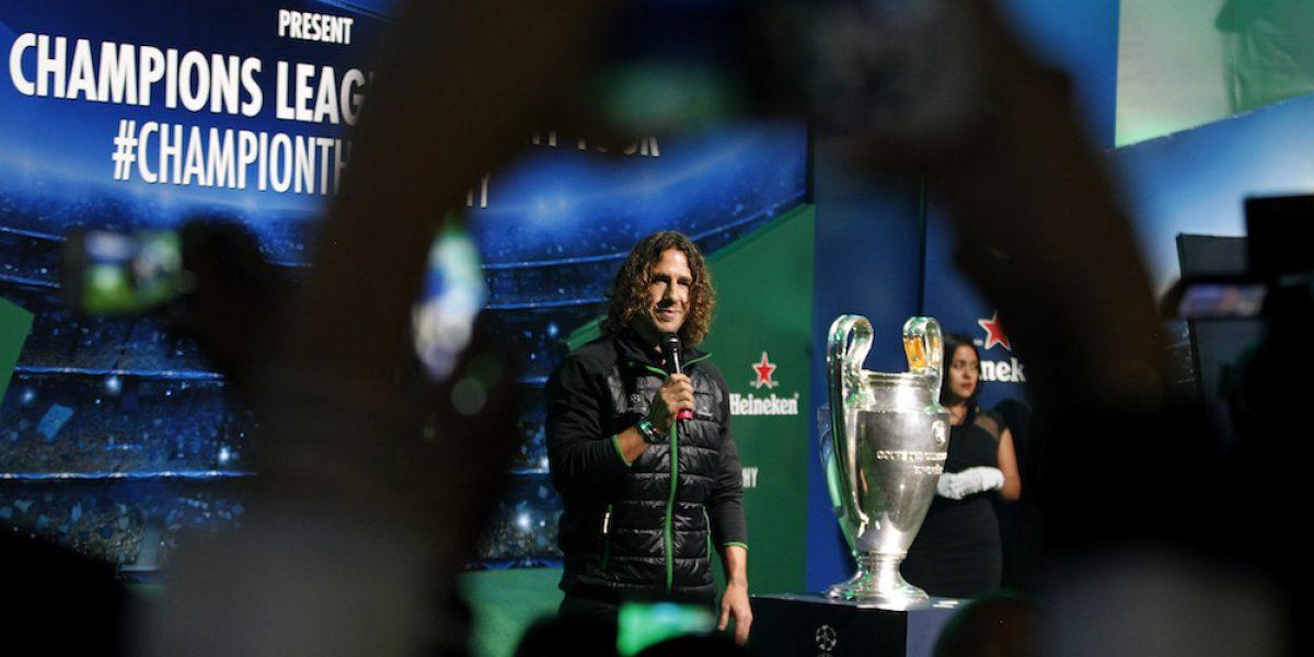 """""""Siempre soñé con ganar la Champions"""": Carles Puyol"""