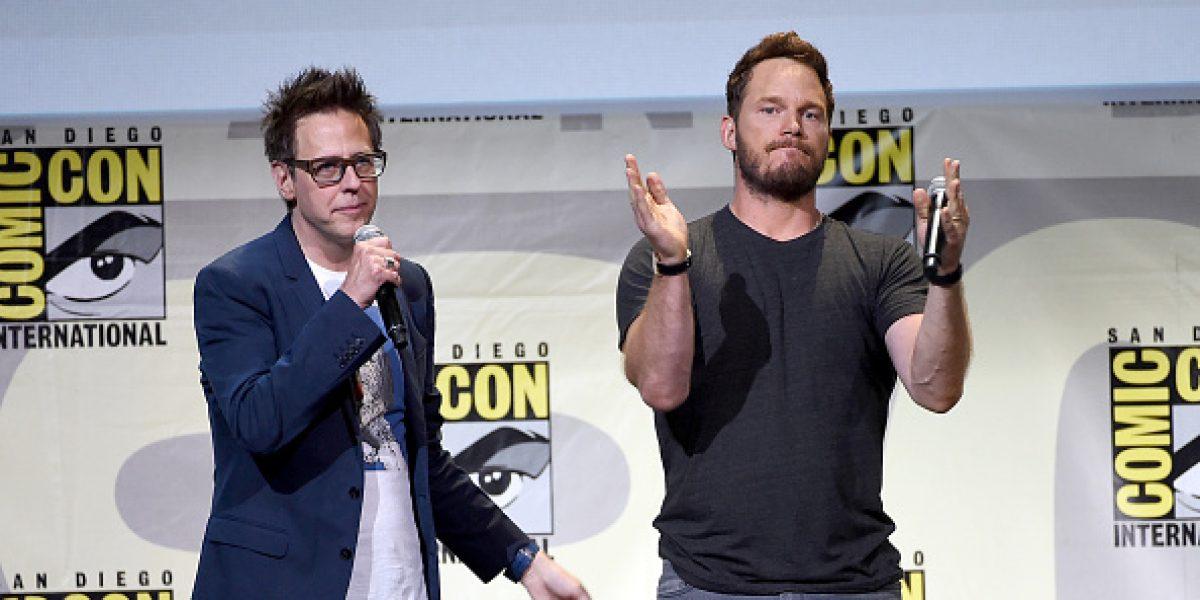 James Gunn dirigirá y escribirá Guardianes de la Galaxia 3