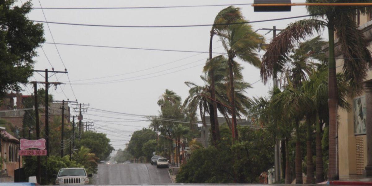 Continuarán fuertes vientos en gran parte del país