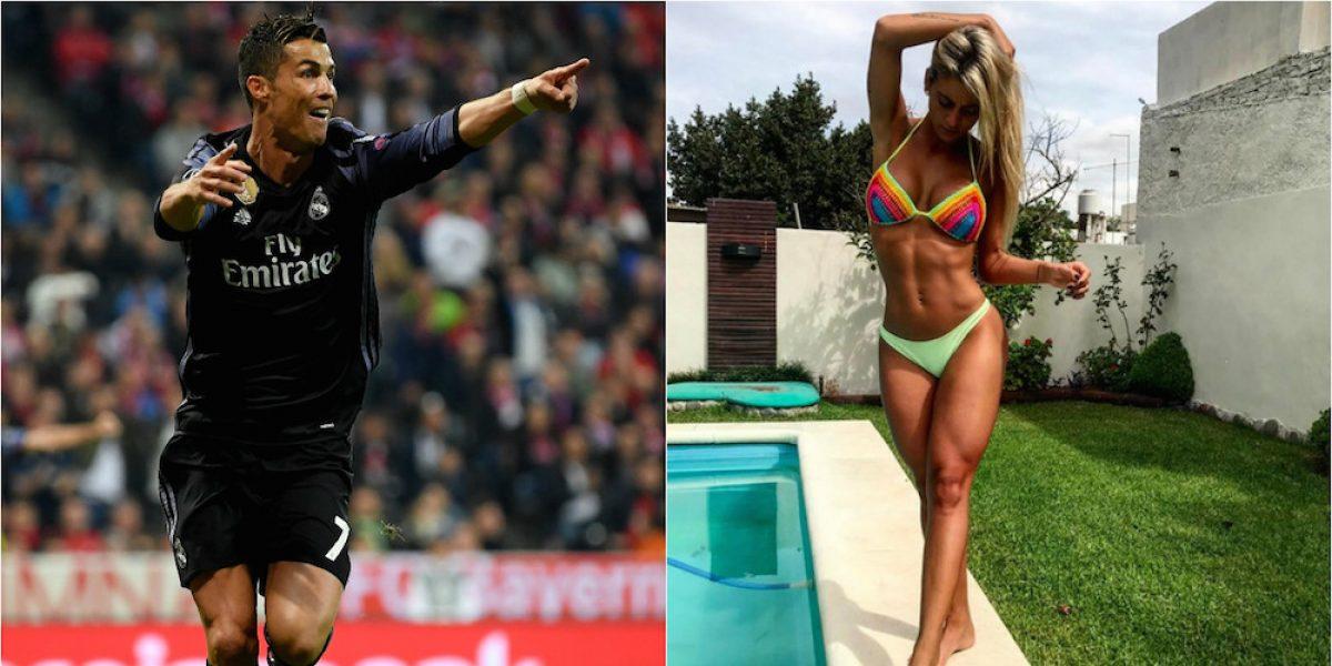 """FOTOS: A Cristiano Ronaldo """"le gusta"""" Sol Pérez"""
