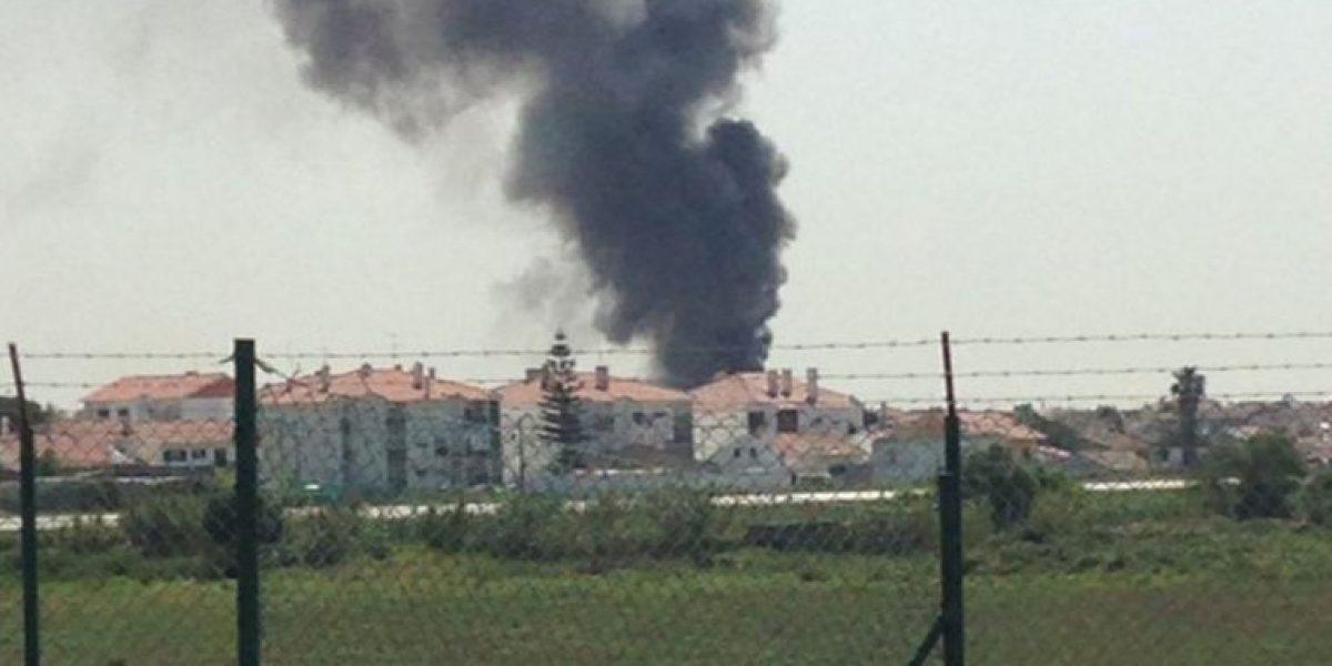 Avioneta se estrella en un centro comercial de Portugal, hay varios muertos