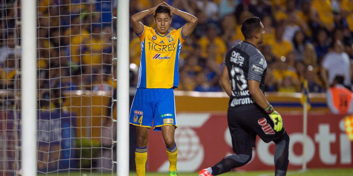 Tigres y Pachuca empatan 1-1 en la ida de la final de Concachampions