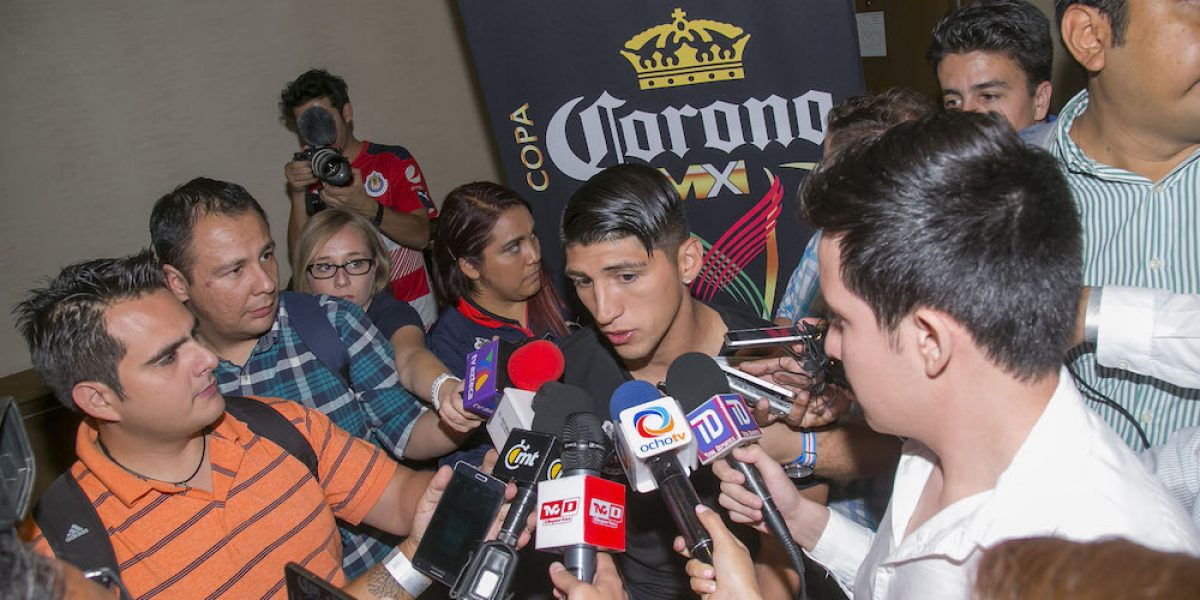 """No tenemos pretexto para no ser campeones"": Alan Pulido"