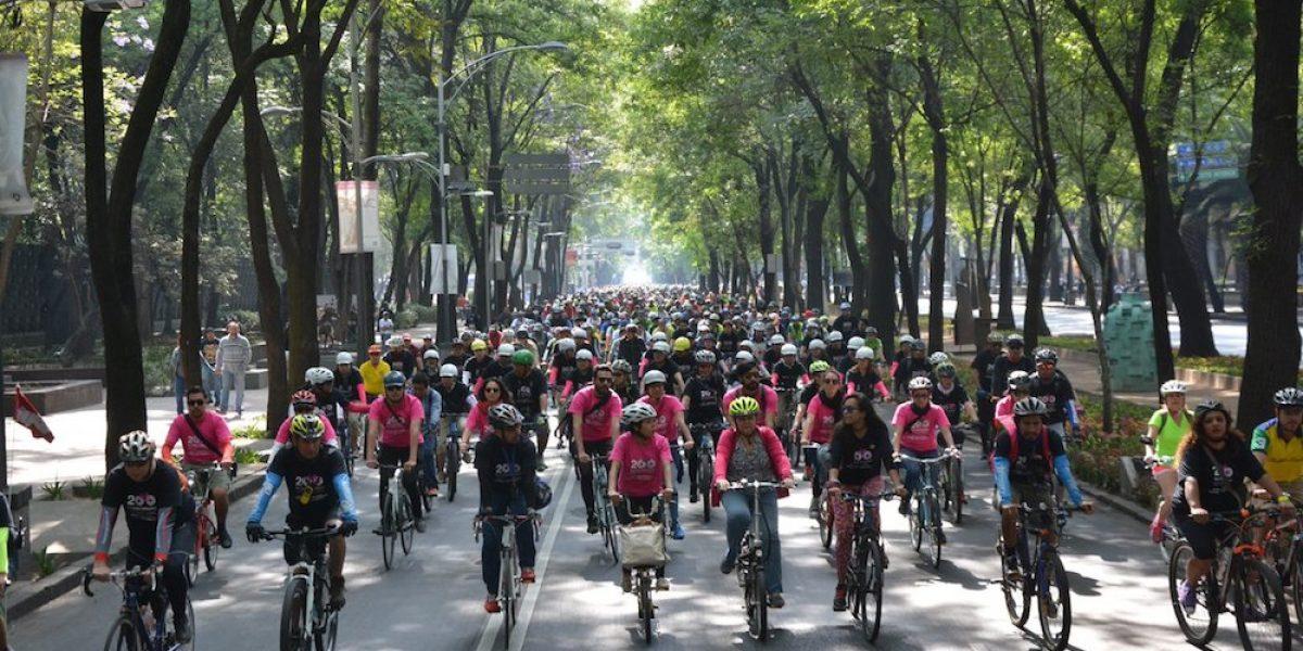 Cada día se realizan 135 mil viajes en bicicleta en la CDMX