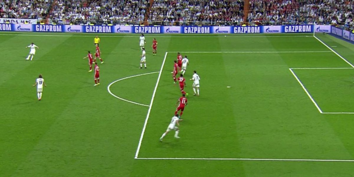 ¡Polémica! Dos goles del Real Madrid en fuera de lugar