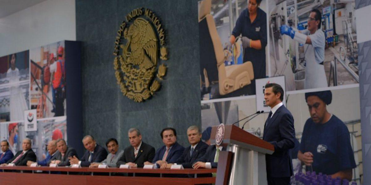 Peña Nieto asegura cerrar su sexenio con 20 millones de empleos formales