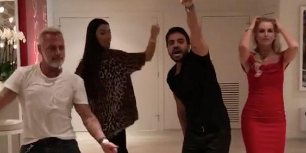 Gianluca Vacchi se une a la fiebre de Despacito y baila con Luis Fonsi