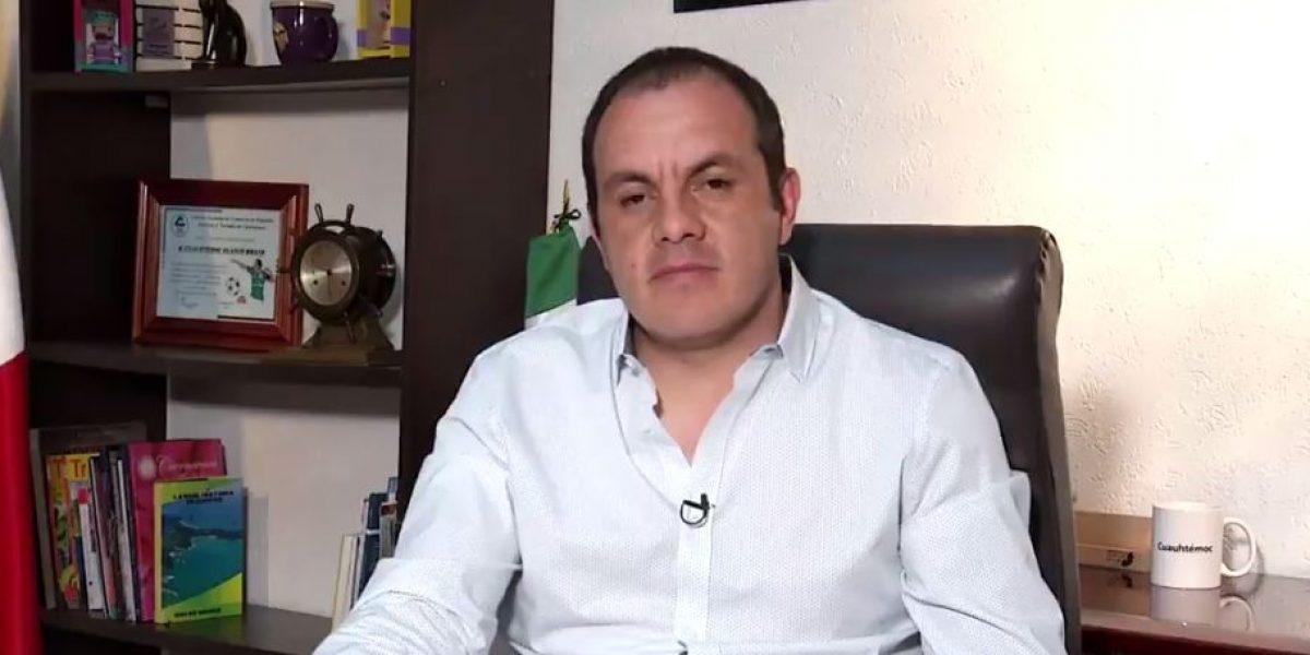 Cuauhtémoc Blanco asegura no estar huyendo de la justicia ante acusaciones en su contra