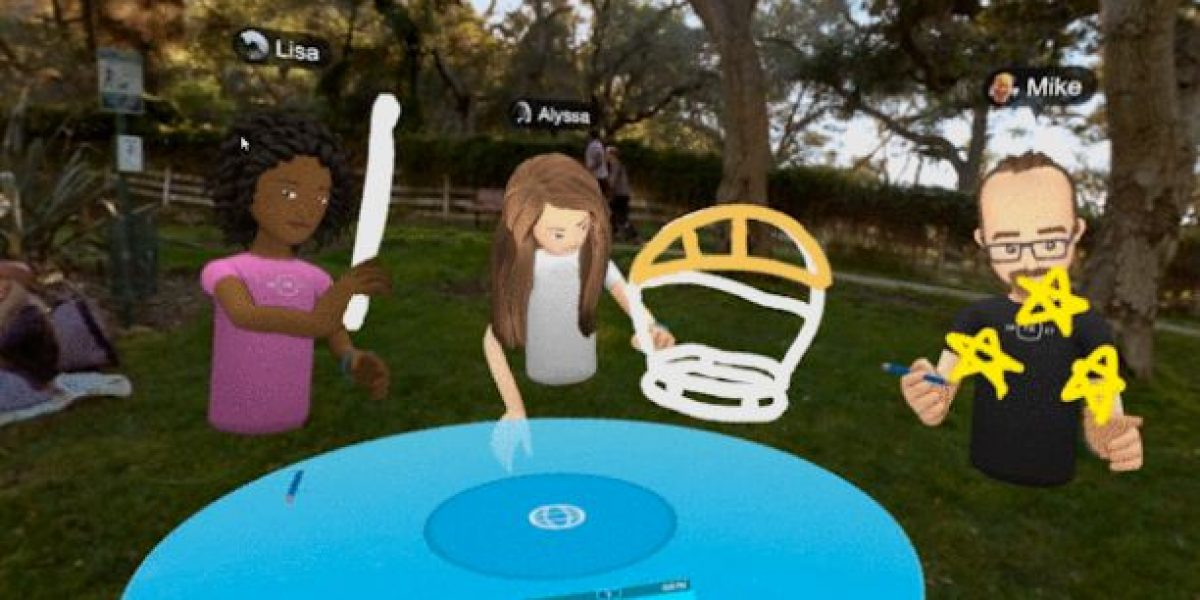 Facebook Spaces: llegó la interacción social en realidad virtual