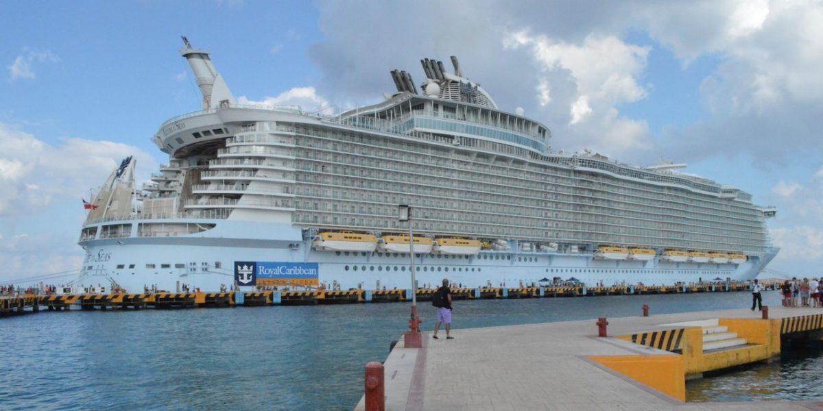 Así es uno de los cruceros más grandes del mundo