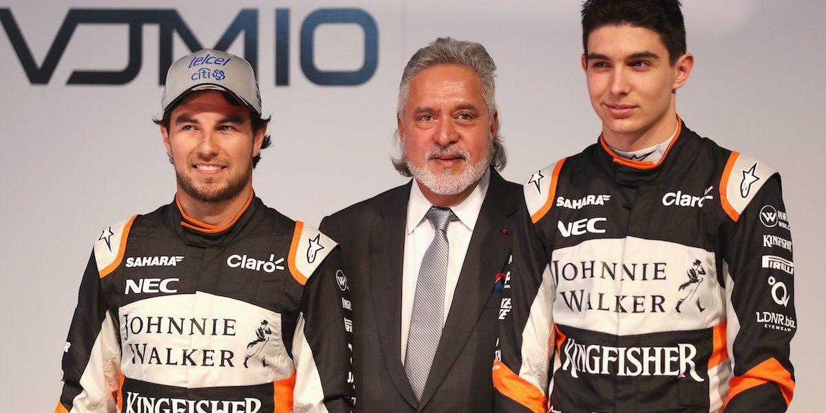 Detienen por fraude al director de Force India, escudería de