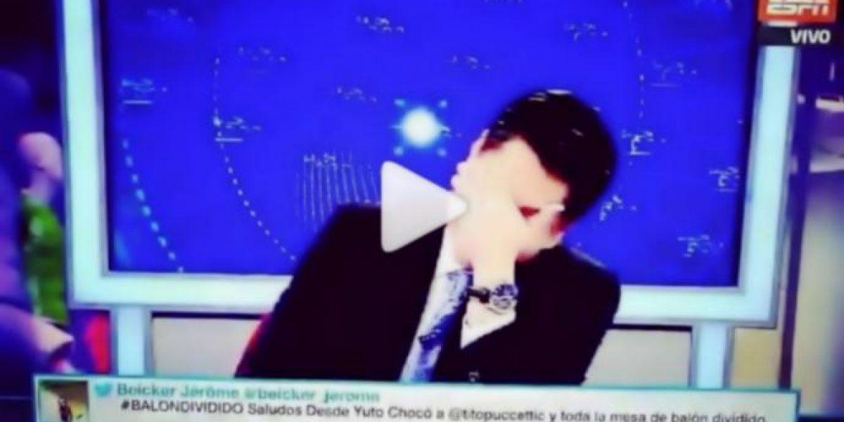 VIDEO: Comentarista de ESPN sufre tremendo albur en pleno programa en vivo