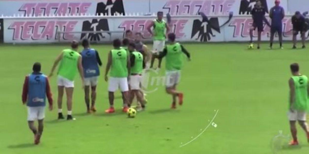 VIDEO: Jugadores del Veracruz se encaran en el entrenamiento
