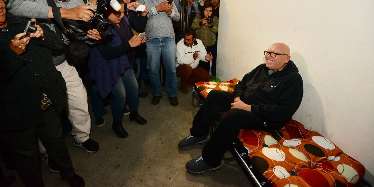TEEM quita registro a Isidro Pastor en Edomex; él inicia huelga de hambre