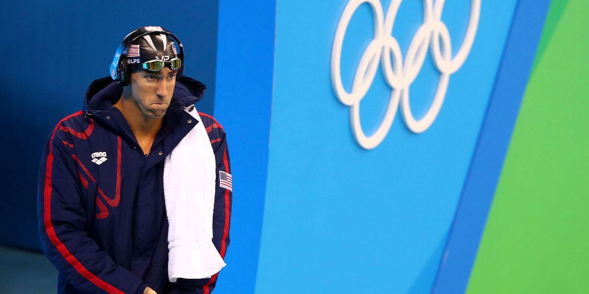 Michael Phelps confiesa que no tiene ganas de volver a nadar