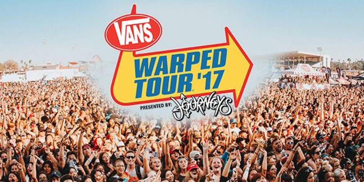 Warped Tour MX anuncia nuevas bandas que se suman al cartel