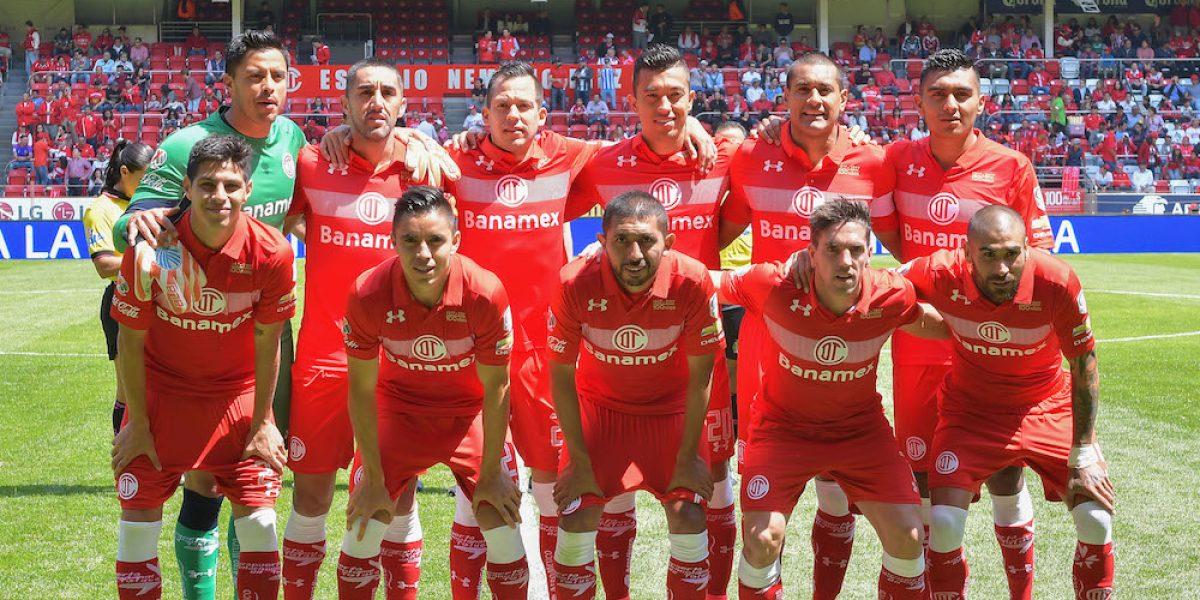 Toluca jugará con el Atlético de Madrid en el Nemesio Díez