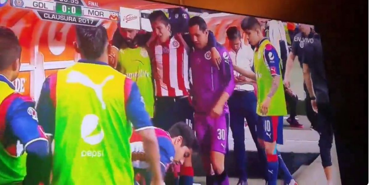 VIDEO: Lesión de Ángel Zaldívar en la final de Copa MX ¡Sufre Chivas!
