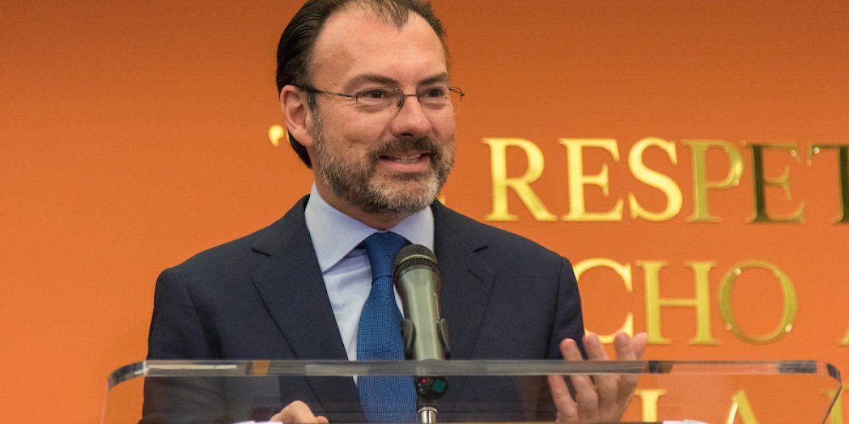 Pide Videgaray a EU respetar derechos de los migrantes deportados