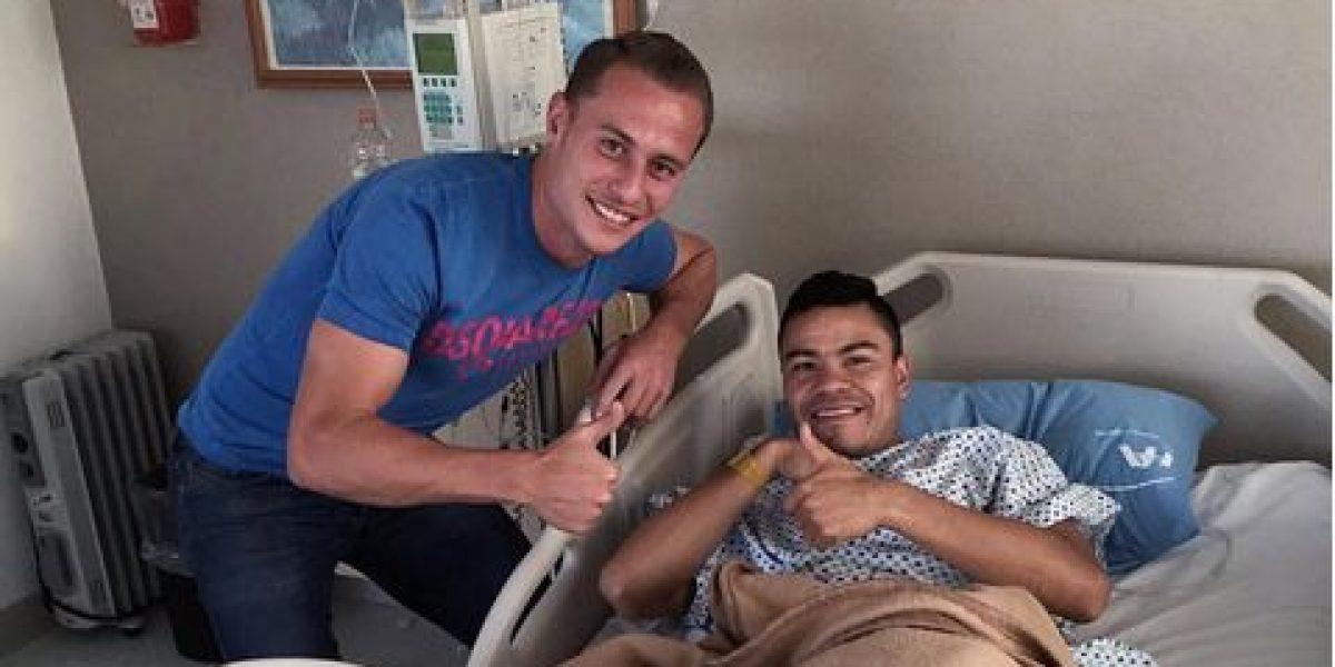 Pablo Barrera es operado con éxito