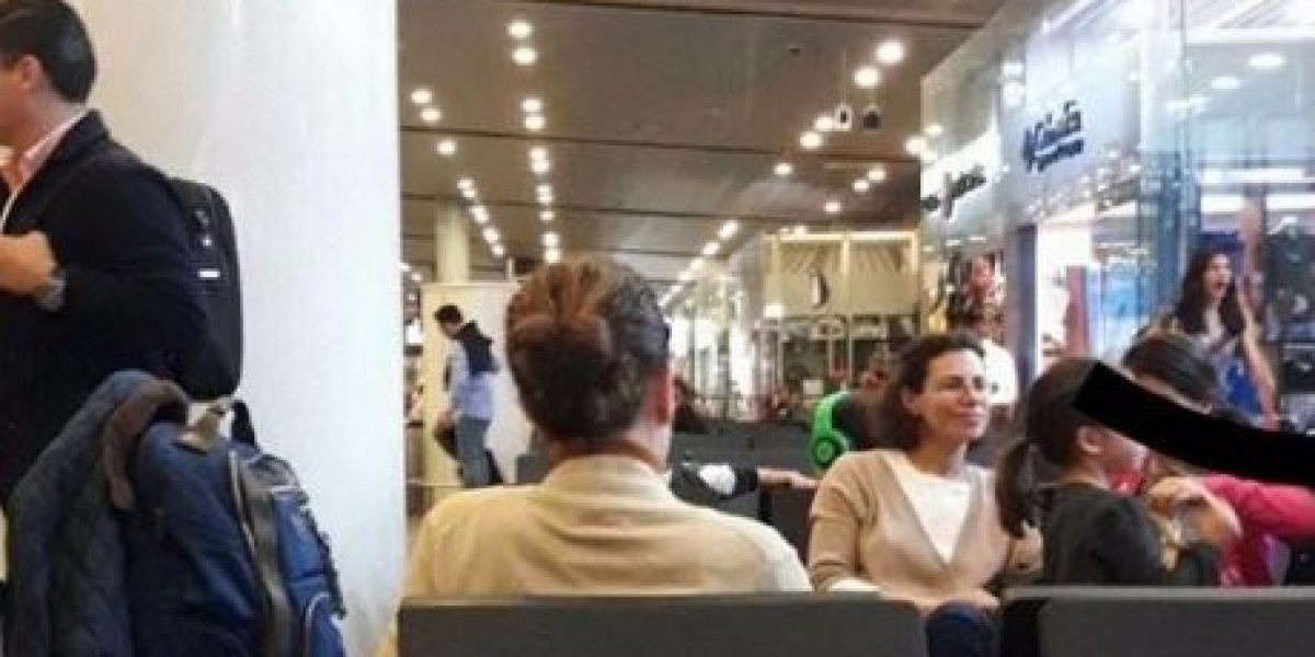 Karime Macías sí viajó a Londres, pero desde Bogotá