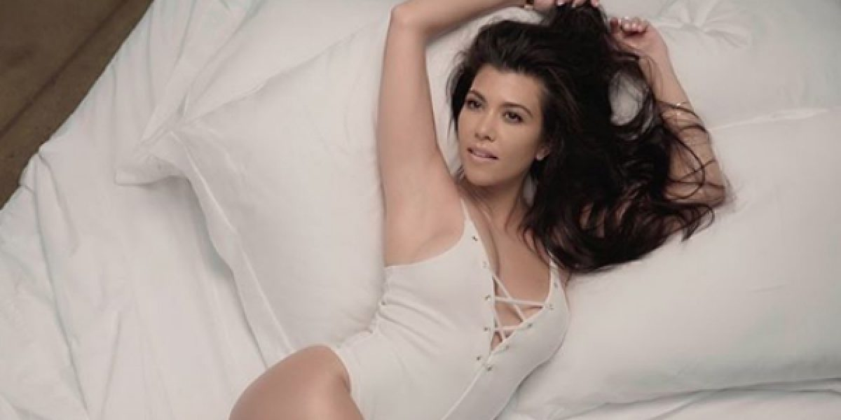 El truco de la funda de seda comprobado por Kourtney Kardashian