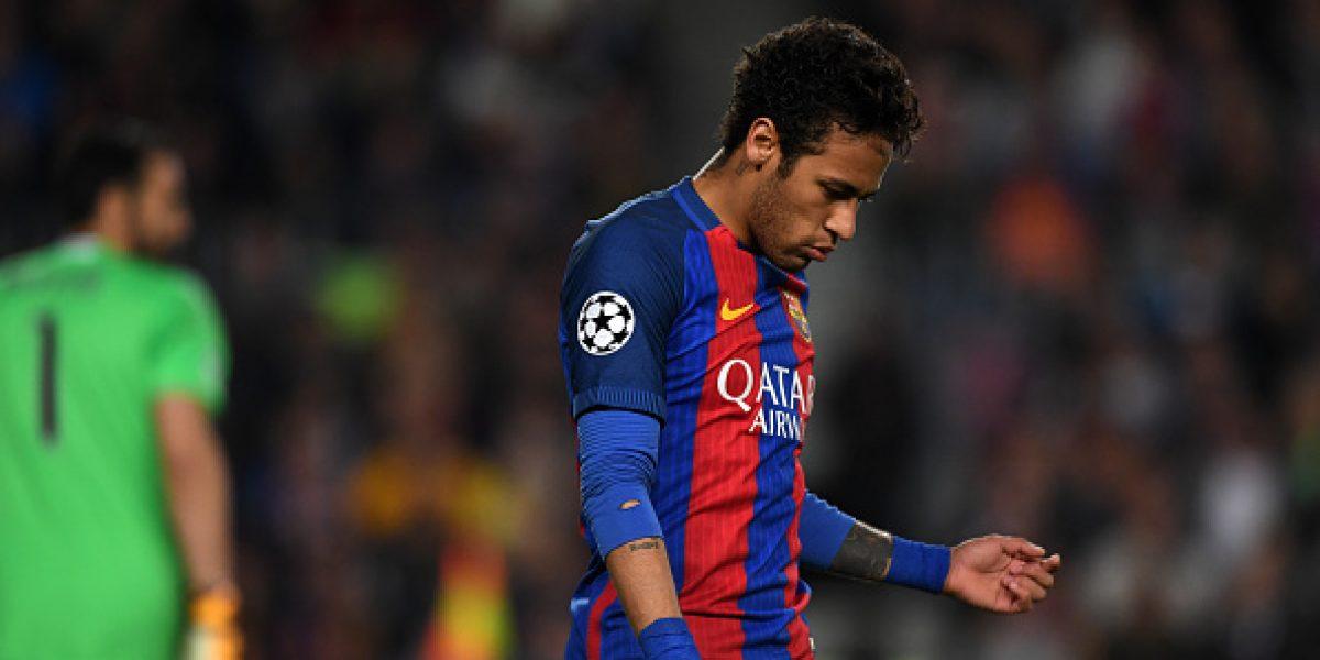 Confirman suspensión de Neymar para el Clásico español