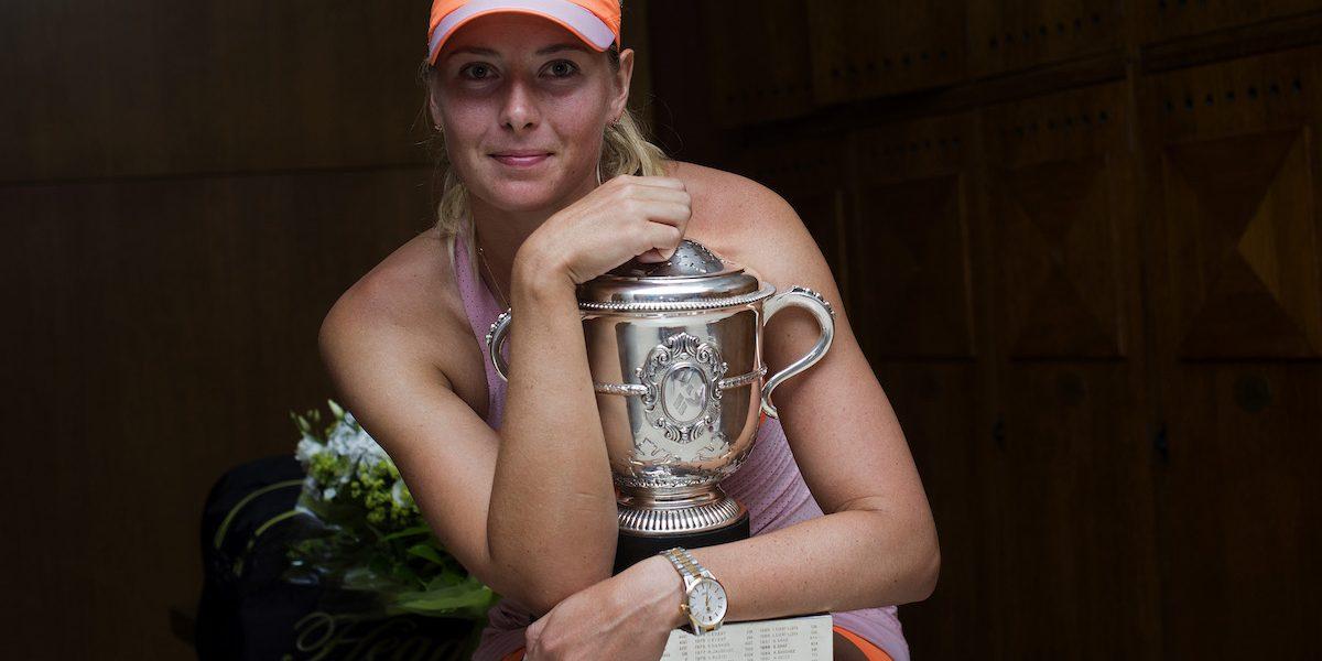Roland Garros no ha perdonado el dopaje de María Sharapova