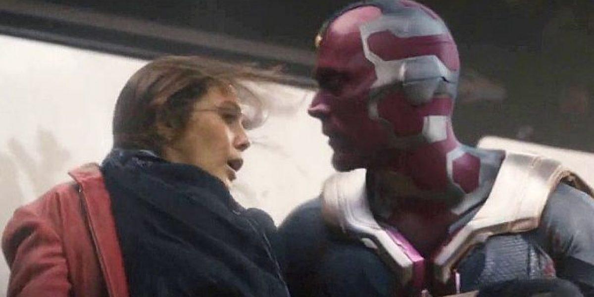 Filtran beso entre Vision y Scarlet Witch en Avengers: Infinity War