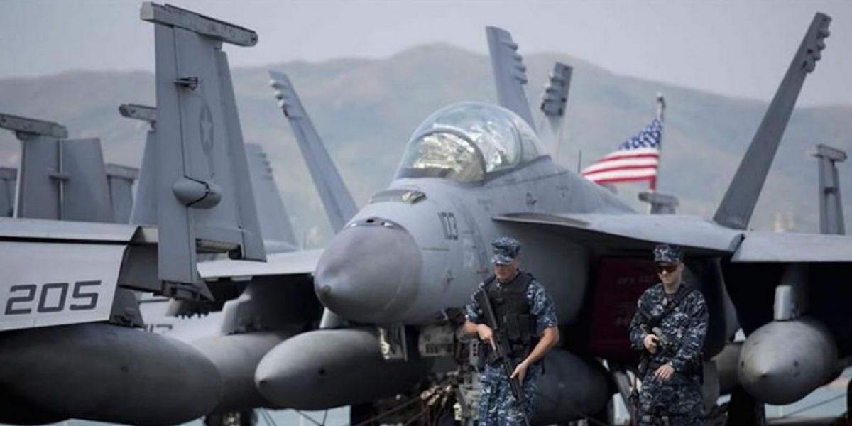 Se estrella caza F-18 de EU que iba a Corea del Norte