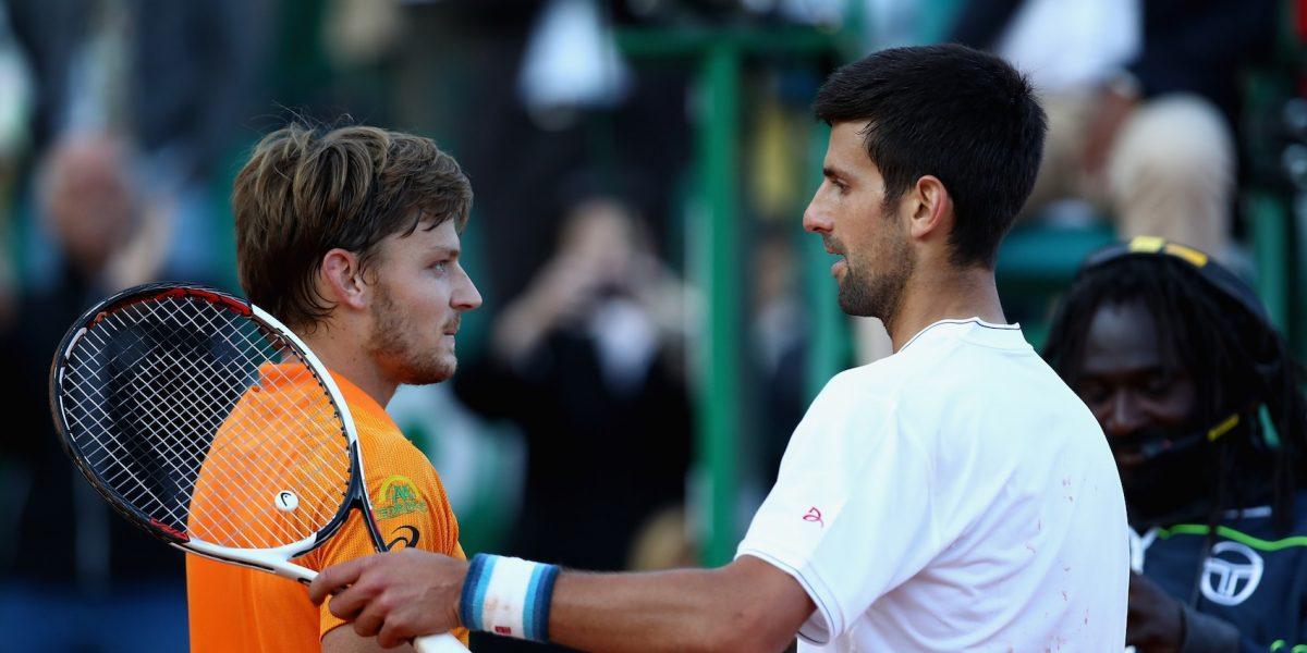 Novak Djokovic cae ante Goffin en el Masters de Montecarlo