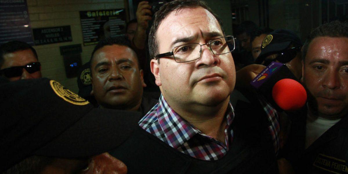 Guatemala urge a México presentar solicitud de extradición de Duarte