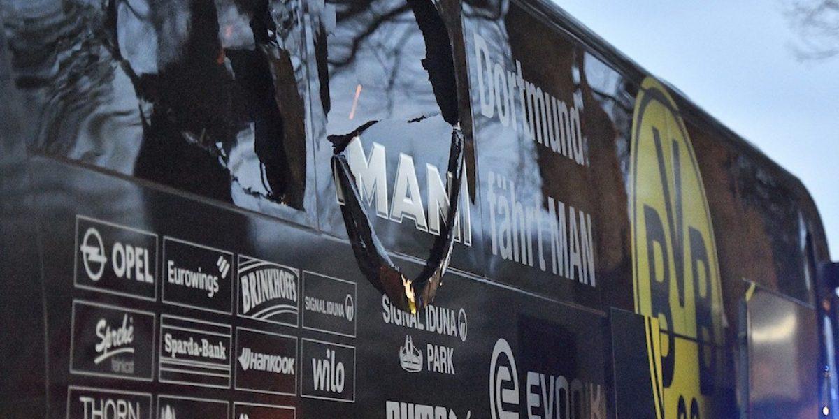 Cae autor del ataque contra el autobús del Borussia Dortmund