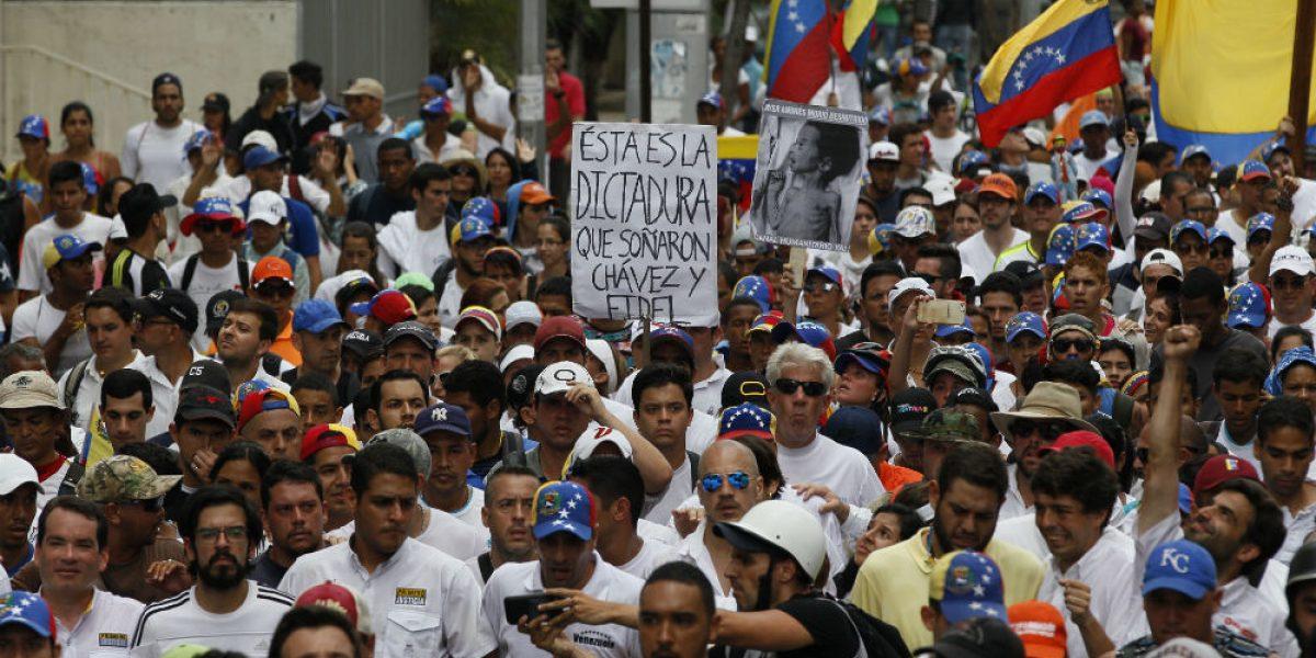 Protestas en Venezuela culminan con incidentes aislados