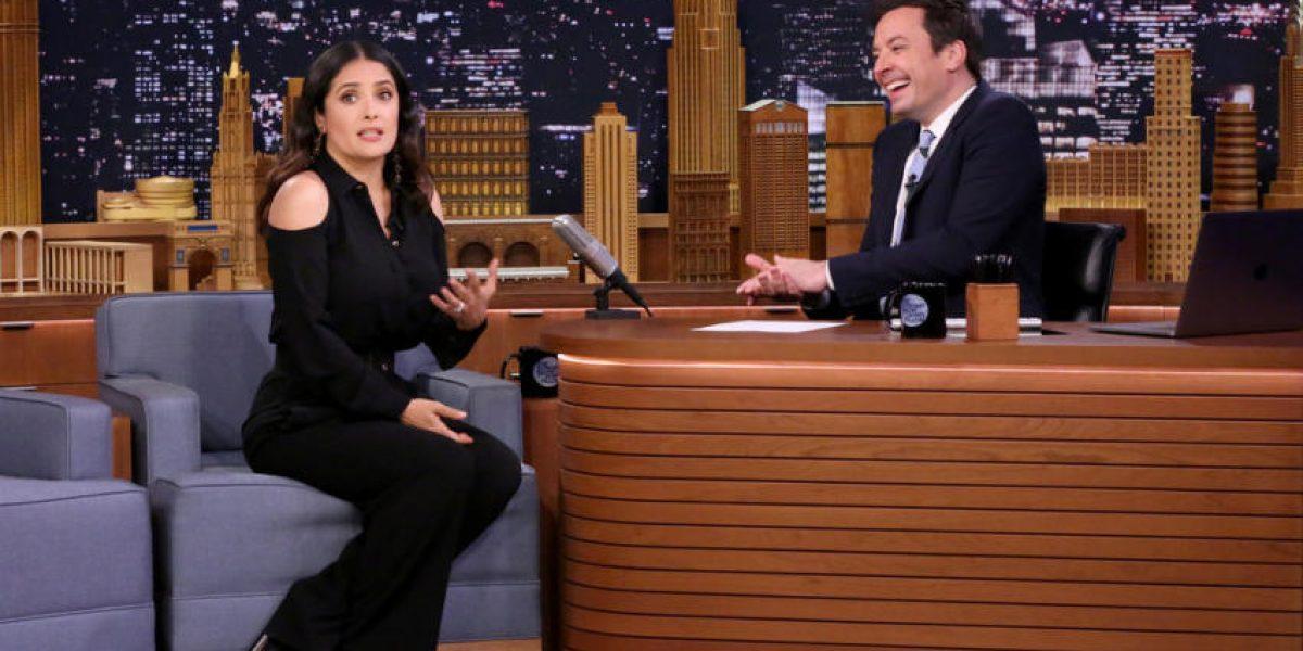 Salma Hayek confiesa que pensó que su esposo le era infiel