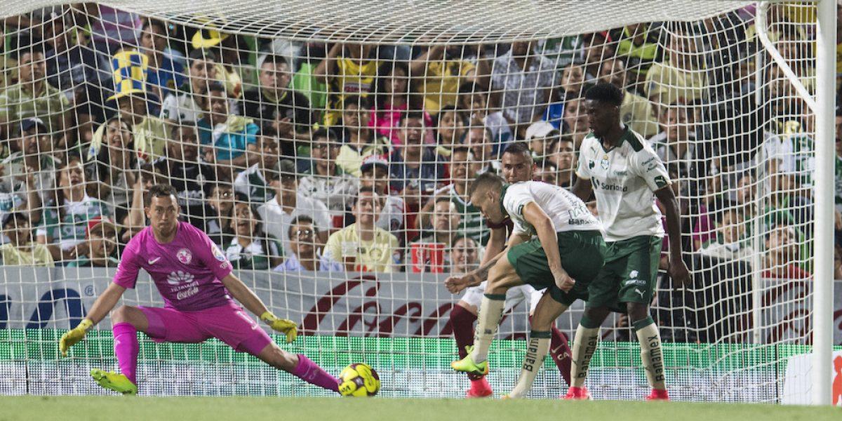 Santos se impone al América con gol de último minuto