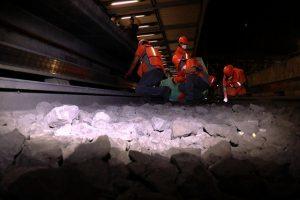 Limpieza profunda: Operación nocturna en el metro de la CDMX