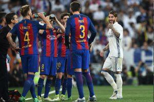 VIDEO: Tras expulsión, Ramos se la canta directo a Piqué ¿Qué le dijo?