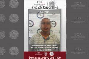 """Detienen a """"El Loco"""", presunto secuestrador de empresarios en Oaxaca"""